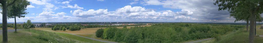 Aussicht vom Kronsberg in Bemerode