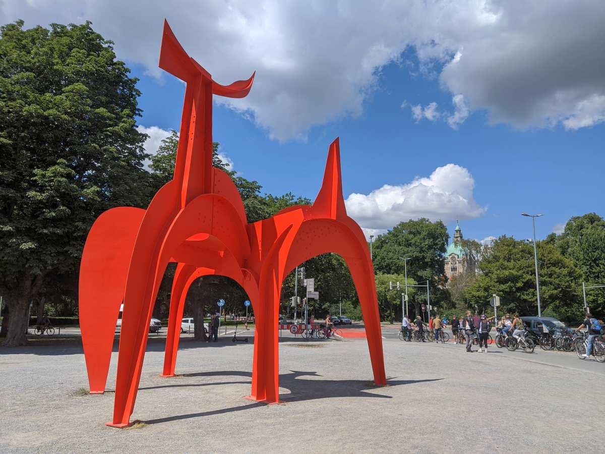 Hellebardier von Alexander Calder