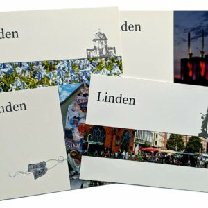 "Postkartenset ""Linden"""