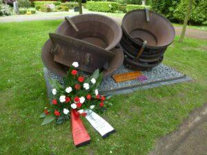 """Denkmal """"Ungehorsam"""" von Almut und Hans-Jürgen Breuste"""