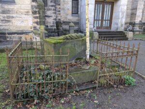 Grabmal Henriette Juliane Caroline von Rüling