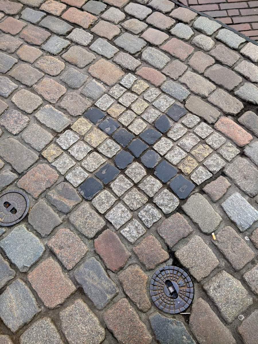 Kreuz in der Altstadt