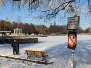 Maschsee: Betreten verboten