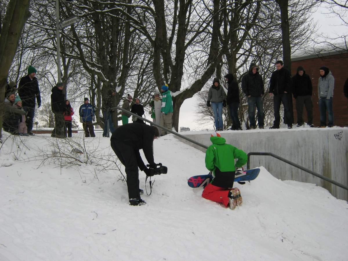 Snowboard Lindener Berg