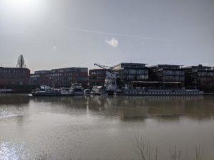 Hafen am Mittellandkanal