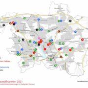 Baumaßnahmen 2021 Hannover