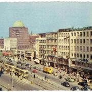 Kurt-Schumacher-Straße in den 60er Jahren