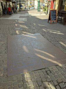 Kunstwerk in der Knochenhauer Straße