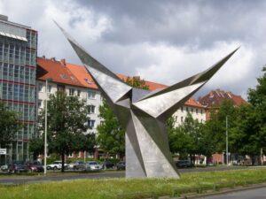 Stahlengel von Erich Hauser