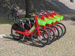 E-Bikes am Sprengel Museum
