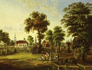 Nicolaifriedhof in Hannover (1820)