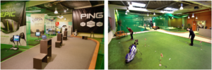 Indoor Range Hohmann Golf