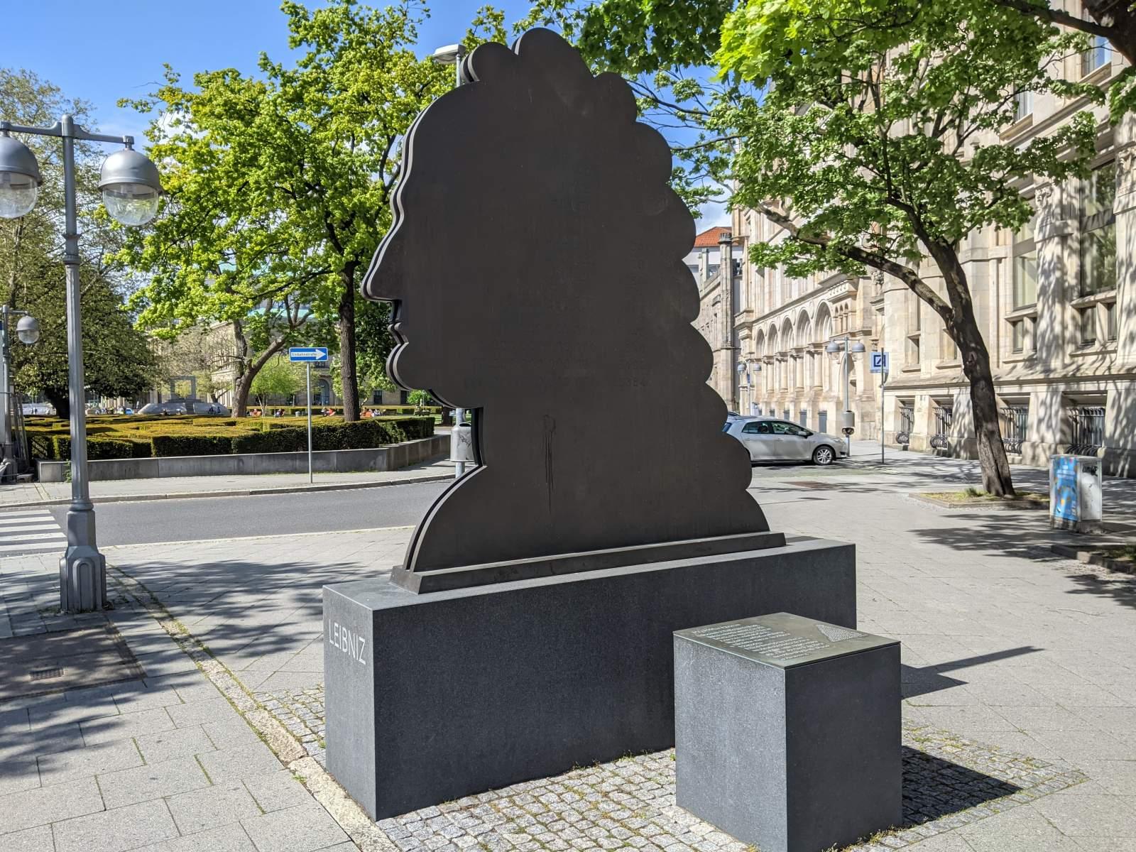 Leibniz Denkmal