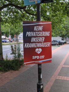 Keine Privatisierung unserer Krankenhäuser