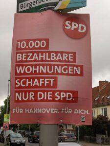 10.000 Wohnungen schafft nur die SPD