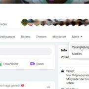 Facebook Veranstaltung erstellen Desktop