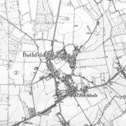 Hannover Bothfeld und Klein-Buchholz (Karte von 1896)