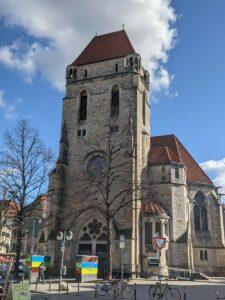 Kirchturm der Lutherkirche