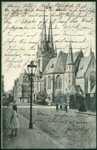Die Kirche um 1906
