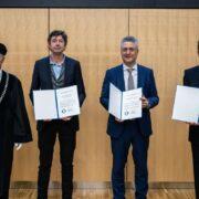 Verleihung der Ehrendoktorwürden an der Tierärztlichen Hochschule Hannover