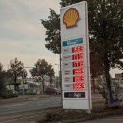 Benzinpreis Shell in Stöcken